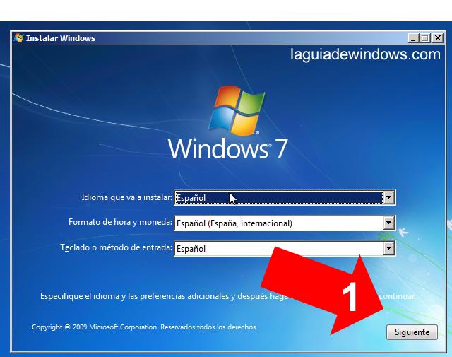 reparar el arranque de windows 7 desde usb