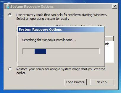 Reparacion de inicio win7 apaga pc soporte pc hardware software chilecomparte - Console de recuperation windows 7 ...